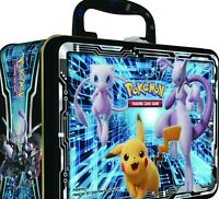 Pokemon TCG: Fall 2019 Collectors Tin Lunchbox Mewtwo Sun & Moon. Factory Sealed