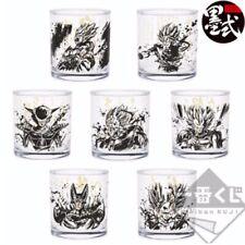 Dragon Ball Ichiban KUJI Super Warriors Battle Z Quotation Glass Collection