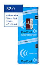 R2.0 430mm Bradford Soundscreen™ Acoustic Sound Insulation Batts