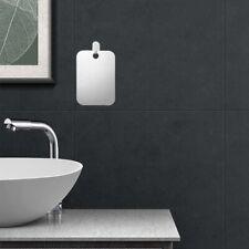 Fogless Anti Fog Shower Shaving Mirror Bathroom Fog-Free Acrylic Shaving F New