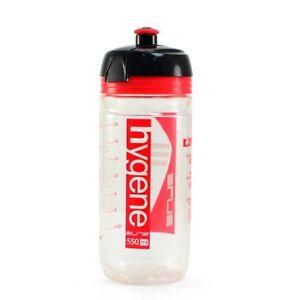 ELITE HYGENE Corsa Cycling Water Bottle 550ml , Clear x Red