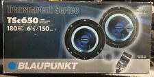 "1 Pair NEW Old School Blaupunkt TSC650 6.5"" Component speakers,Rare,NOS,NIB"