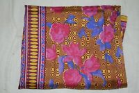 Indian Floral Print Traditional Dupatta Long Scarf Ethnic Handmade Ladies Shawl