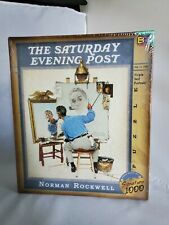 THE SATURDAY EVENING POST PUZZLE FROM THE WORKS OF NORMAN ROCKWELL 1026 Pieces
