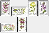 [CF6282] RDA 1981, Serie Flores y arbustos raros del arbóreum de Berlín (MNH)