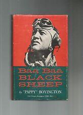 Baa Baa, Black Sheep by Gregory Boyington (1958, Hardback),HB