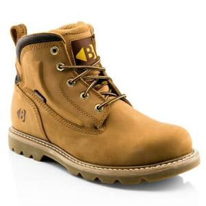 Buckler B2800 Honey Goodyear Welted Non-Safety Lace Work Boot