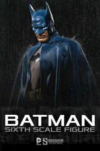 Batman 1:6 Scale Figure Sideshow Collectibles Hot Toys 1/6 DC NIB Sealed RARE!