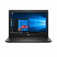 Dell Inspiron 14 Intel Core i3-7020 Dual Windows 10 IntelHD 8GB RAM 256GB SSD