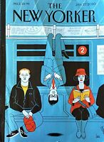 """THE NEW YORKER MAGAZINE  JANUARY 27 2020 """"MINDFUL COMMUTING"""" NEW SHIPS FREE"""