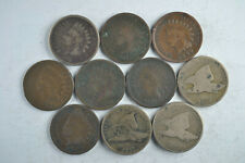 Roll of 50 Cull Flying Eagle/Indian Head Cents Good Mix of Dates none after 1899
