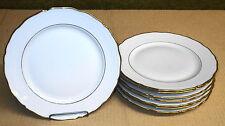 "8 Seltmann Weiden Bavaria Porcelain Plates - 9 3/8"" - Renate"