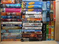 Wholesale Lot Of 40 Assorted Seasons (  Various Genres ) T.V. Shows DVDs