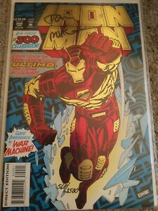 Signed Iron Man 568/2500