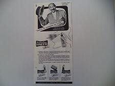 advertising Pubblicità 1960 BRILLANTINA LINETTI