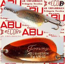 Vintage ABU Svängsta Record Blinker Tommy 7gr SK benutzt,sehr selten 1957-66