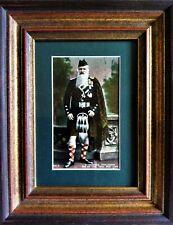 More details for scottish antique framed print   a veteran highlander one of the thin red line