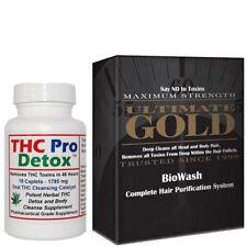 THC PRO DETOX - 48 Hours to Cleanse Toxins plus THC Detoxifying Hair Shampoo