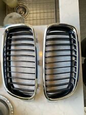 OEM F30 BMW Kidney Grills Black/Silver