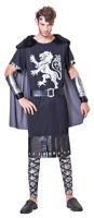 Caballero De Nordens Disfraz Para Hombre - Negro - Burgfest Edad Media Carnaval