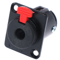 Speaker Audio Jack 6.35mm Connector 1/4 inch Female Socket Panel Mounted RCA WF