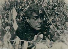 """L'acteur Paul Muni dans """"Le Commando frappe à l'aube"""", 1942, Vintage s"""