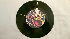 "KISS ‎Smashes, Thrashes & Hits  7"" VINYL Single  Wall Hanging Clock"