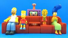 2008 SIMPSONS Couch-A-Bunga - BURGER KING - Complete 6 Toy Factory Sealed Set