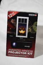 NEW Window FX Animated Window Projector Kit Christmas Halloween 12Season Display