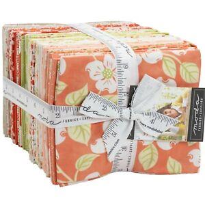 Strawberries & Rhubarb 40 Fat Quarter Bundle by Fig Tree & Co. for Moda Fabrics