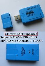 USB 2.0 All in One Multi Memory Card Reader TF MS M2 CF  Micro SD HC