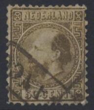 Países Bajos 1867 Con Oro Die me Fine Used