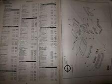 Renault : Catalogue pièces EA 01-2003