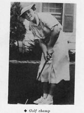 1937 Minneapolis High School Yearbook~Hall of Fame LPGA Golfer Patty Berg ++++