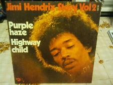 "jimi hendrix""single7"".story vol:2.fra.3eme.édition:label:barclay standard.sacem"