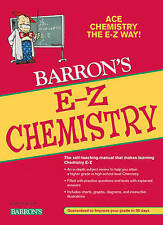 NEW E-Z Chemistry (Barron's E-Z Series) by Joseph Mascetta M.A.
