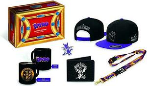Official Spyro Limited Edition Gear Crate - Badge, Cap, Mug, Lanyard and Wallet