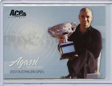2006 ACE AUTHENTIC ANDRE AGASSI ANTHOLOGY 2001 AUSTRALIAN OPEN AG-7