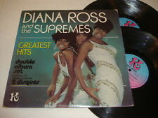 DIANA ROSS & THE SUPREMES 'Greatest Hits' 1978 Canadian Double LP - Kelo Music