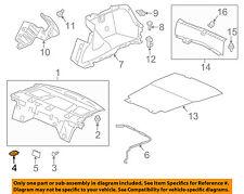 HONDA OEM 13-17 Accord INTERIOR-REAR BODY-Pkg tray trim cap 84501T2AA01ZB