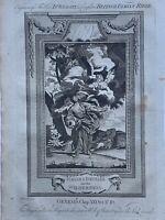 1770 Hagar & Ishmael in Wilderness Genesis Biblical Antique Copperplate Print