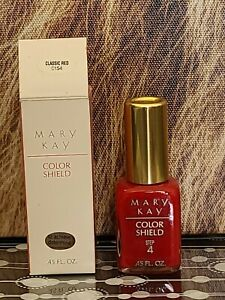Mary Kay Vintage Color Shield Nail Color *RARE DISCONTINUED COLOR* Classic Red
