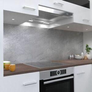 Betonwand Design Küchenrückwand selbstklebend Wandtattoo für Fliesenspiegel