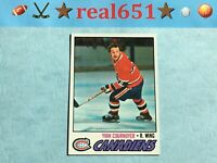 1977 Topps #230 YVAN COURNOYER | Sharp Nicely Centered Vintage | Canadiens HOF