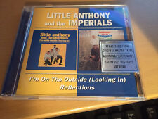 "Littke Anthony and the Imperials ""I'm On The Outside / Reflections"" cd 24 tracks"
