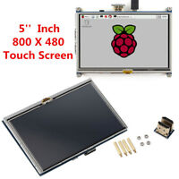 """5"""" HDMI Interface TFT LCD Display Touch Screen Monitor For Raspberry Pi Pi2 B+"""
