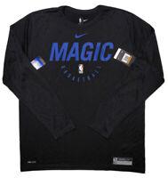 NIKE Orlando Magic NBA Dri-Fit Long Sleeve Shirt Black 2XLT 2XL Tall ~ New