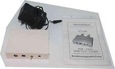 Macrosystems V-Code Videoconverter, RGB, S-VHS, Composite, sehr selten, inkl. Ne