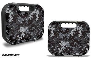 Skin Wrap for Factory Glock 18 19 21 22 43 9mm Pistol Gun Hard Gen 1,2,3 Case CP