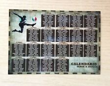 CALENDARIO TASCABILE - CAMPIONATO DI CALCIO SERIE A 2014-15 - REGALO BETTER -NEW